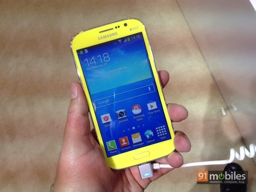 Samsung Galaxy Grand Neo first impressions: adding dollops of colour