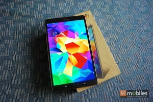 Samsung Galaxy Tab S 8.4 LTE unboxing: a peek inside the box