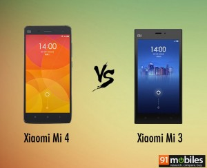 Xiaomi Mi 4 vs Xiaomi Mi 3: what's different and should you wait for the Mi 4? [spec showdown]
