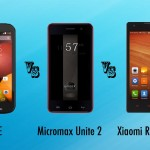 Xiaomi Redmi 1s vs Moto E vs Micromax Unite 2: fierce competition in the budget battleground [spec showdown]