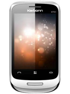 Karbonn KT83 Silver Touch Price