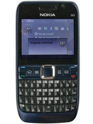 Nokia E63 Price