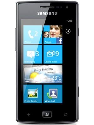 Samsung Omnia W Price