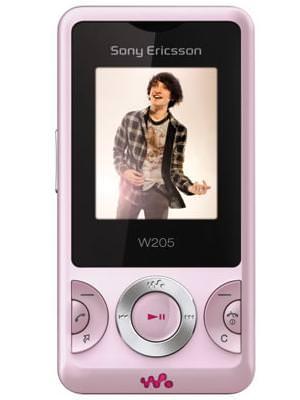 Sony Ericsson W205i Price